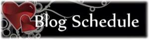 Blog Schedule